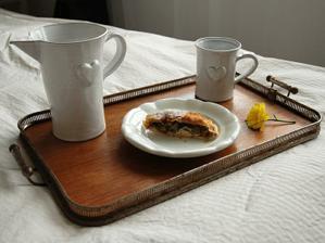 Na snídani do postele :)