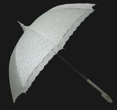 Prípravy na Náš Deň D - Svadobný dáždnik, konečne doma...dobrý na fotenie aj prípade dažďa...