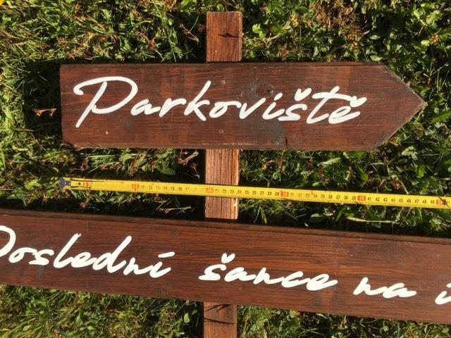 Dřevěný rozcestník - Obrázek č. 1
