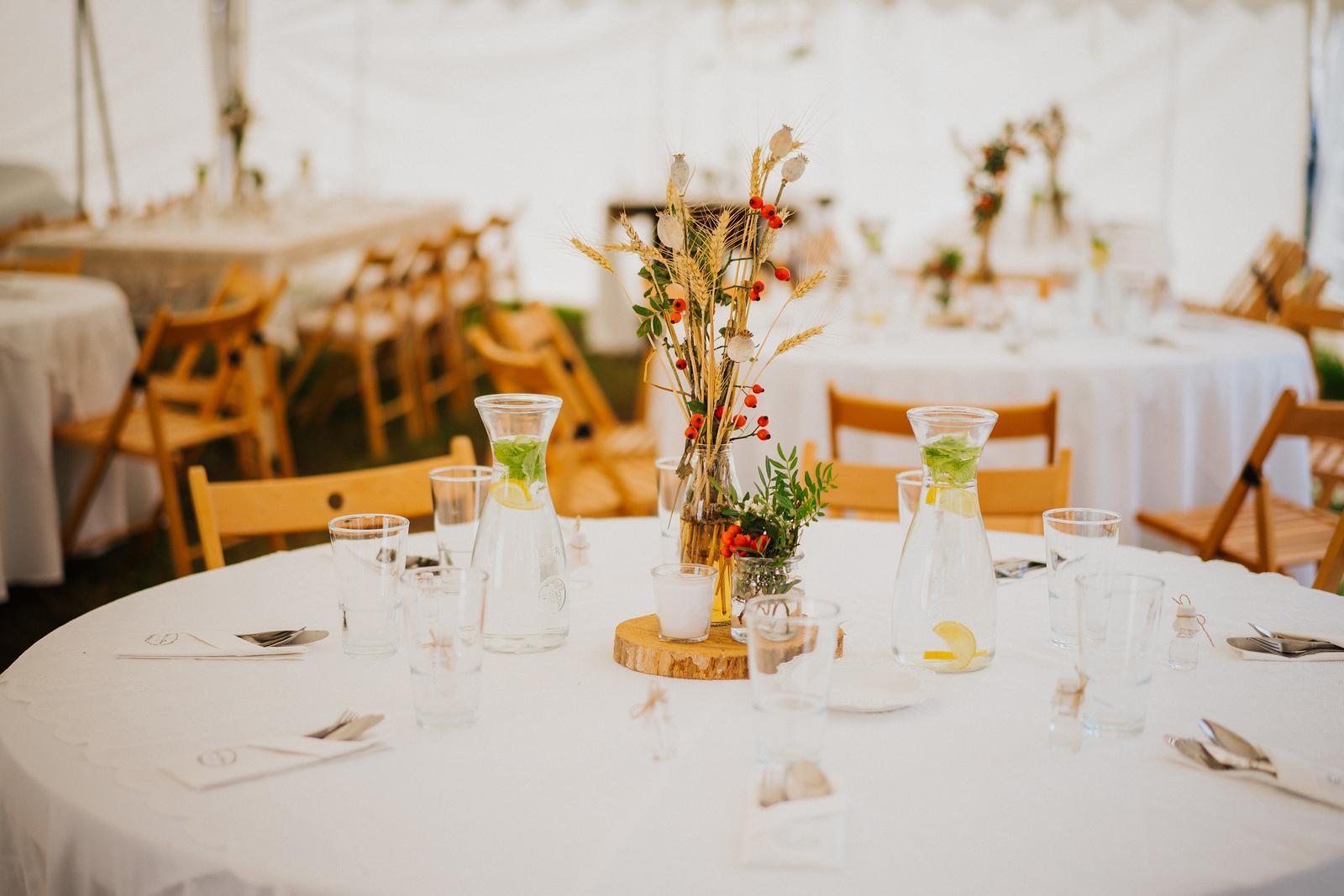 Vázičky na stoly - Obrázek č. 1