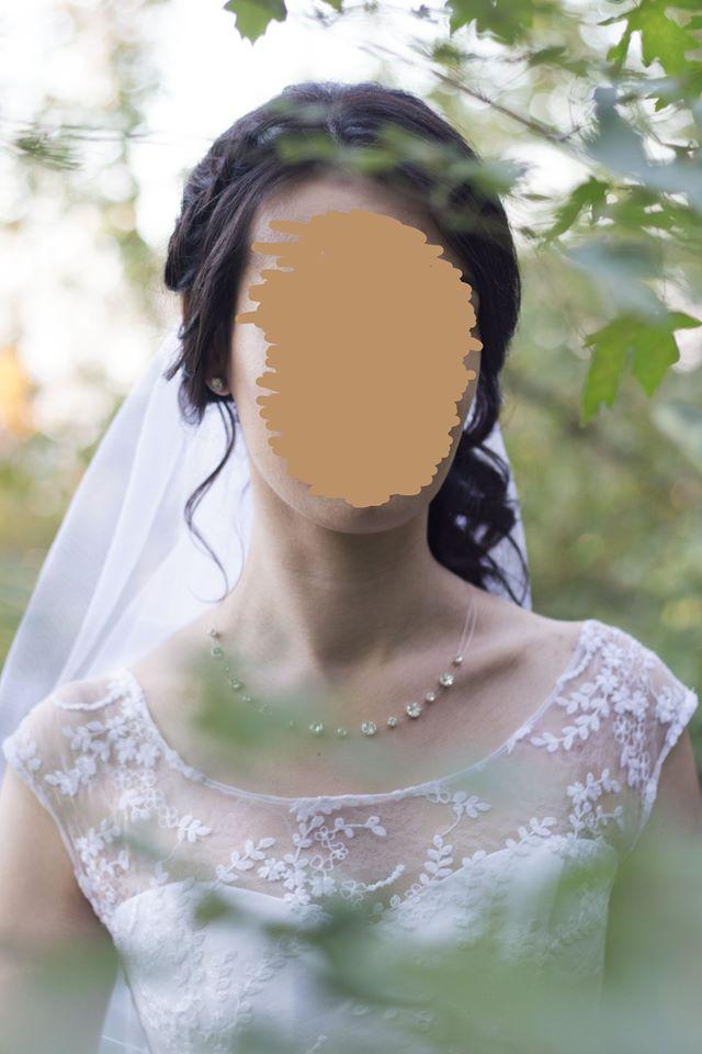 Prodám svatební šaty, velikost 34-36 (38) - Obrázek č. 1