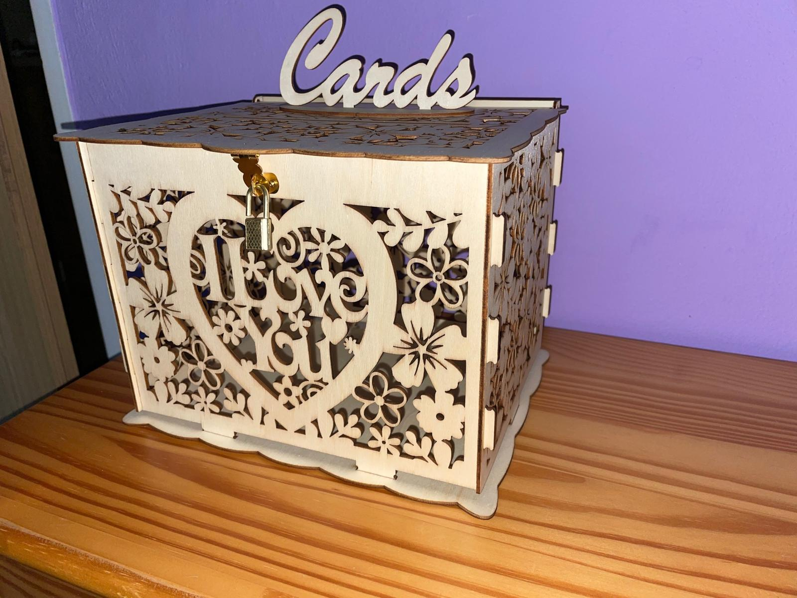 Krabička / box na blahopřání - Obrázek č. 1
