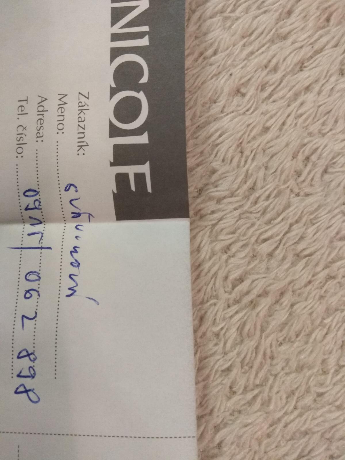 Kredit 300€ na svadobne saty v Nicole Bratislava - Obrázok č. 1