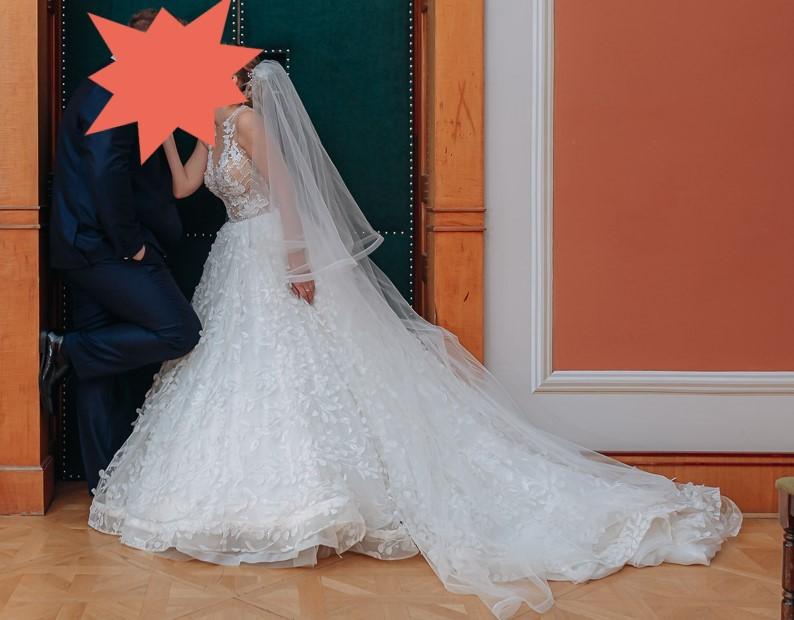 Exkluzívne svadobné šaty Milla Nova na predaj - Obrázok č. 1