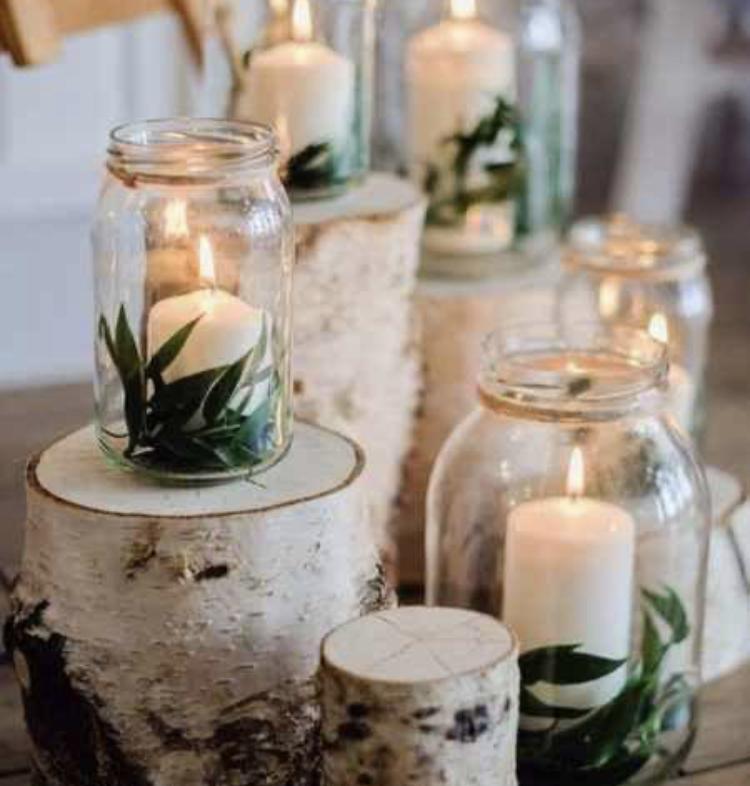 Svíčky bílé dekorativní - Obrázek č. 2