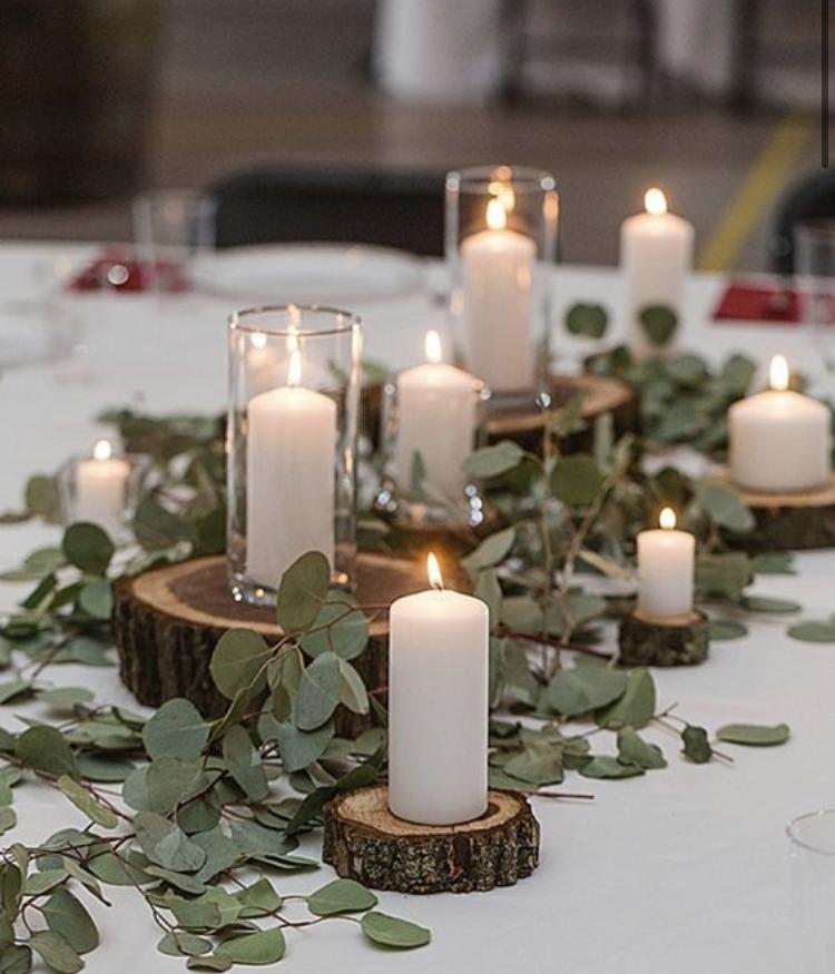 Svíčky bílé dekorativní - Obrázek č. 3