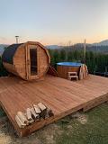 Drevená sudová sauna do záhrady - Obrázok č. 1