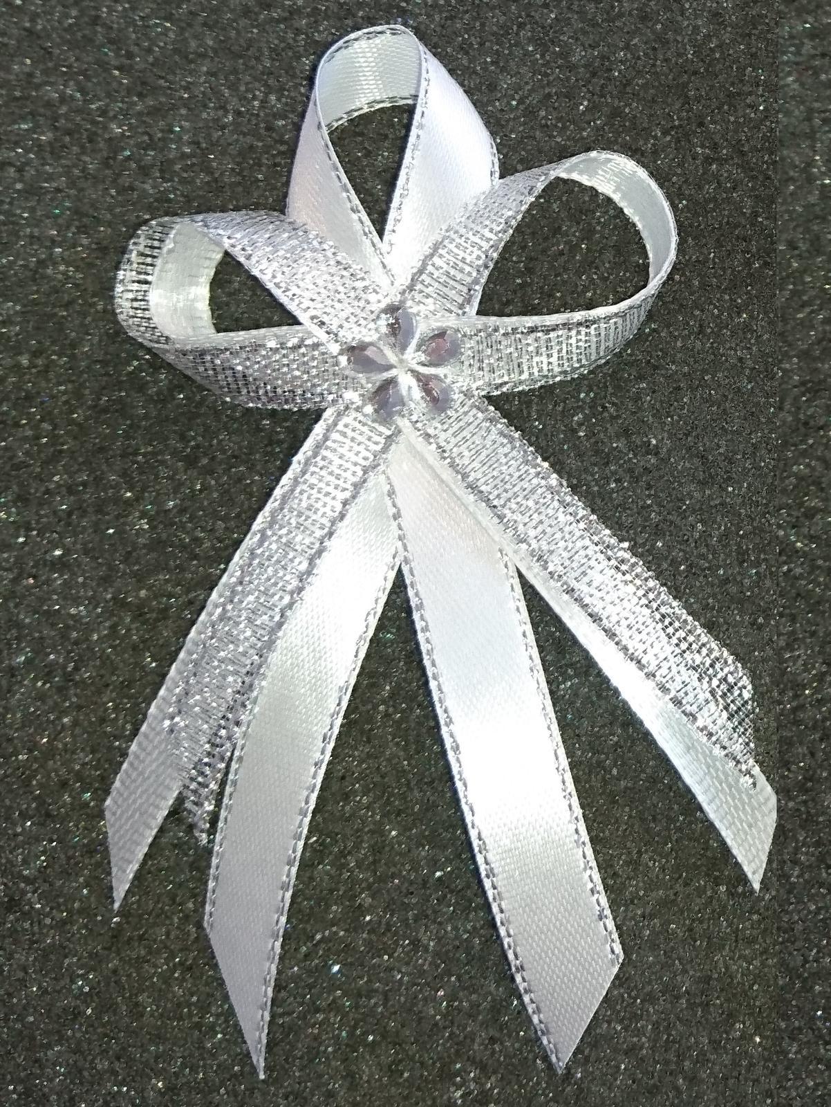 Svadobné pierka a náramky pre družičky - Obrázok č. 1