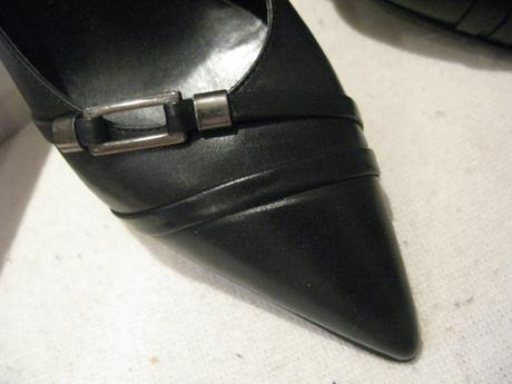 Kožené topanocky lodicky Bata  - vel. 36  - Obrázok č. 1