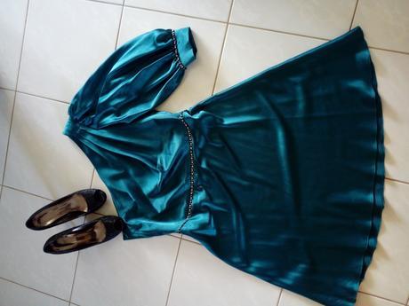 Petrolejove šaty - Obrázok č. 1
