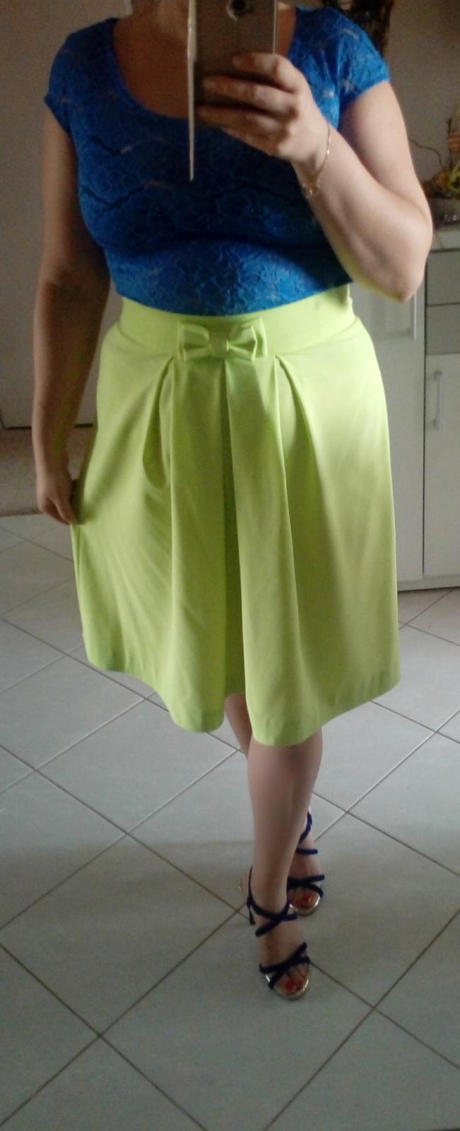 Limetkova sukňa - Obrázok č. 1