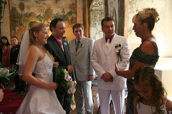 Předávání nevěsty :-)