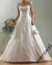 moje svatební šaty - snad budou nakonec vypadat stejně