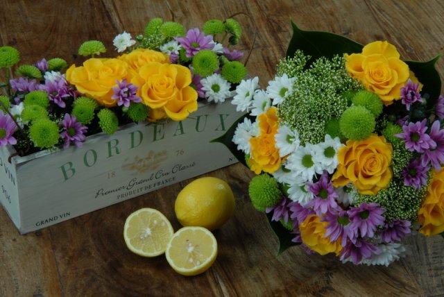Lucinka&Kubík - kvetinky, ako nazberané na lúke, romantika