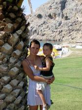 Já a Tom, dovolená Rodos 2006.