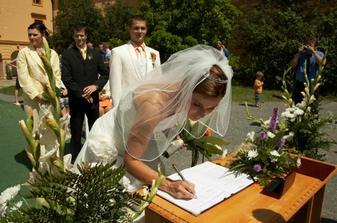 Druhý podpis, už jako Špačková...