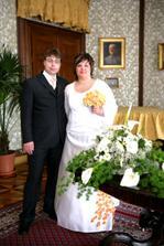 Už jako novomanželé