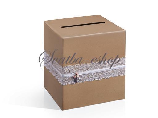 Svatební pokladničky a truhličky  - Vše skladem, odesíláme ihned - Obrázek č. 11