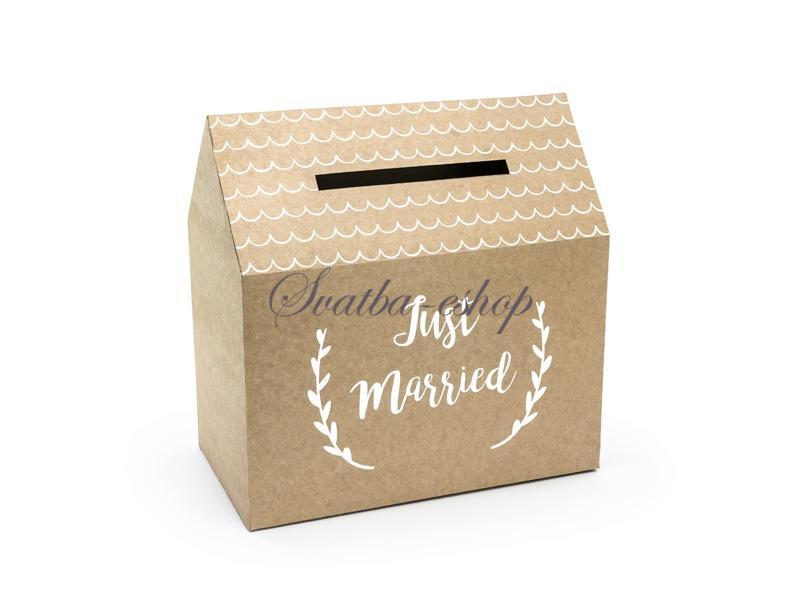 Svatební pokladničky a truhličky  - Vše skladem, odesíláme ihned - Obrázek č. 22
