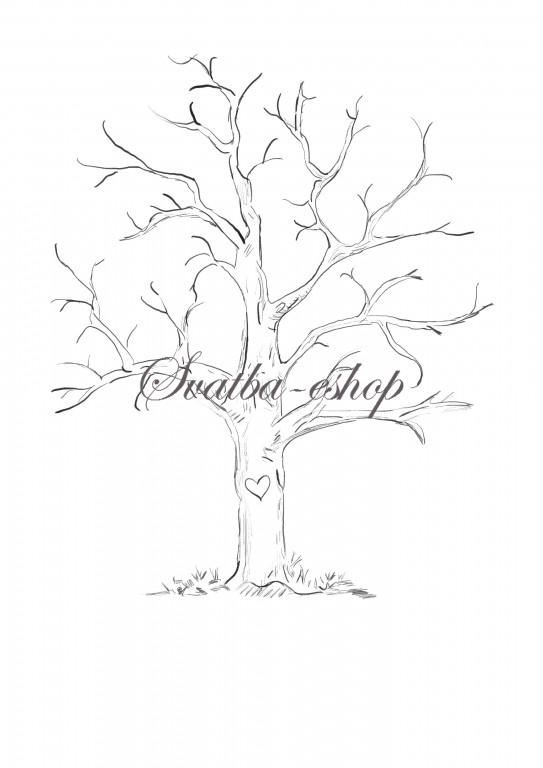 Svatební stromy přání od 99 Kč - Obrázek č. 11