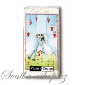 Svatba-eshop - svatební kapesníčky