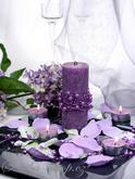 Dekorace na svatební stůl