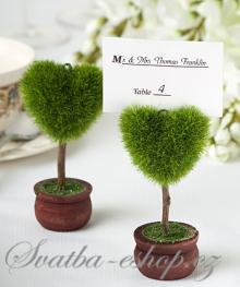 Svatba-eshop - originální stojánky na jmenovky
