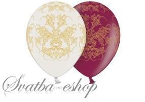 Svatba-eshop - Různé druhy balónků - s potiskem, tvar srdce aj.