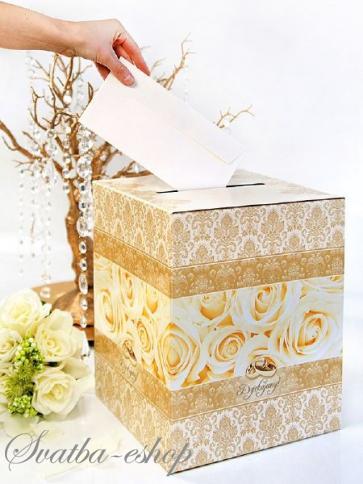 Svatba-eshop - Svatební truhličky na přání a peníze