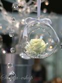 závěsné skleněné koule