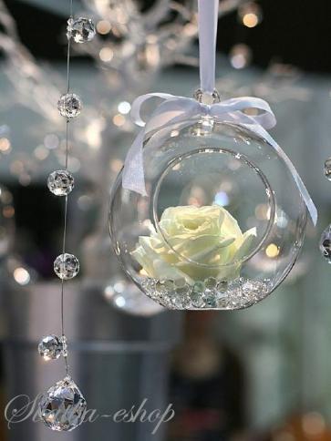 Svatba-eshop - závěsné skleněné koule
