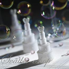 Svatební bublifuk - dort - Obrázek č. 1
