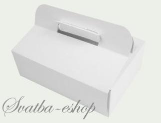 Krabička na svatební výslužku cena od 9 Kč - Obrázek č. 1