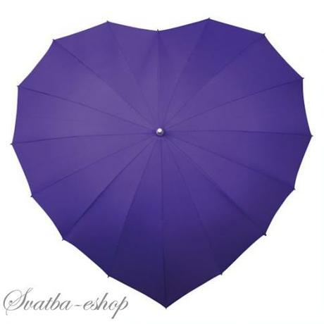 Deštník srdce více barev - Obrázek č. 1