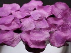 Plátky růží purpurově fialové - Obrázek č. 1