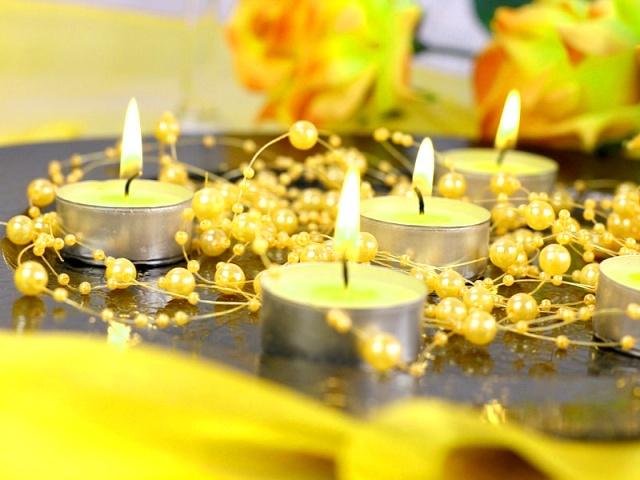 Perličky na silikonu žluté - Obrázek č. 1