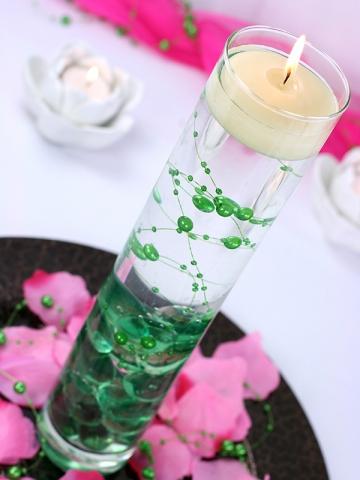 Perličky na silikonu zelené - Obrázek č. 1