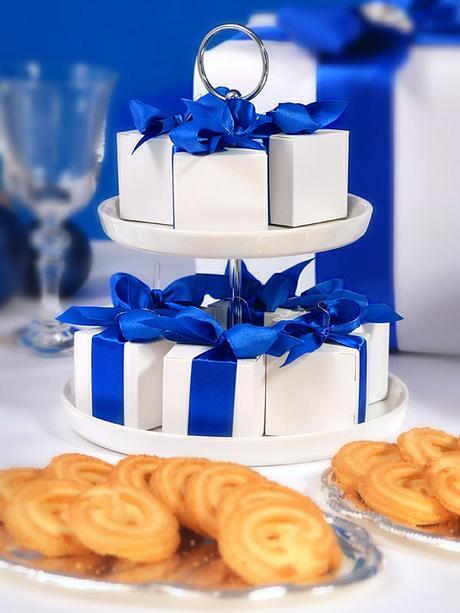 Krabička na svatební mandle bílá - Obrázek č. 2