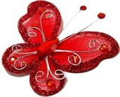 Motýlek červený,