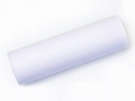 Tyl 15 cm x 9 m bílý - Obrázek č. 1