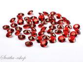 Dekorační diamanty 12 mm burgundy,