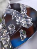 Dekorační diamanty 30 mm čiré,