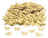 Konfety motýlci zlatí,