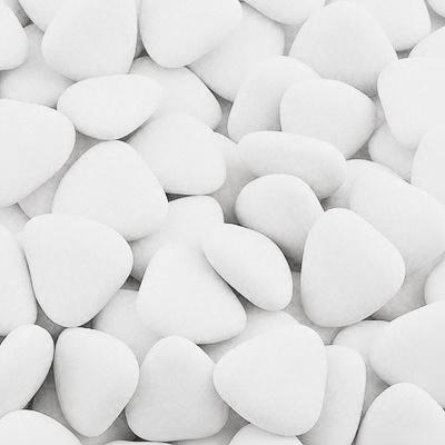 Čokoládové srdíčko bílé 1 ks - Obrázek č. 1