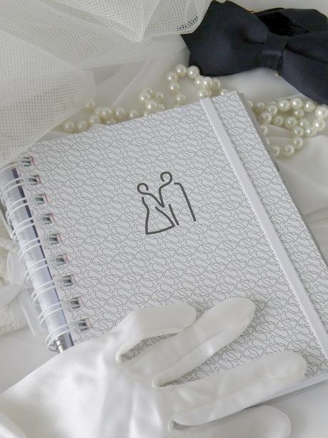 Svatební diář bílý - Obrázek č. 1