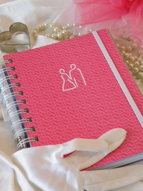 Svatební diář růžový - Obrázek č. 1