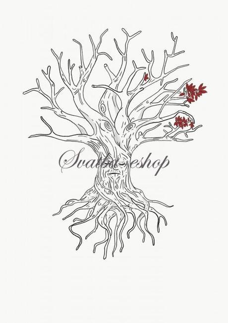 Svatební strom inspirovaný GoT A3 - Obrázek č. 1