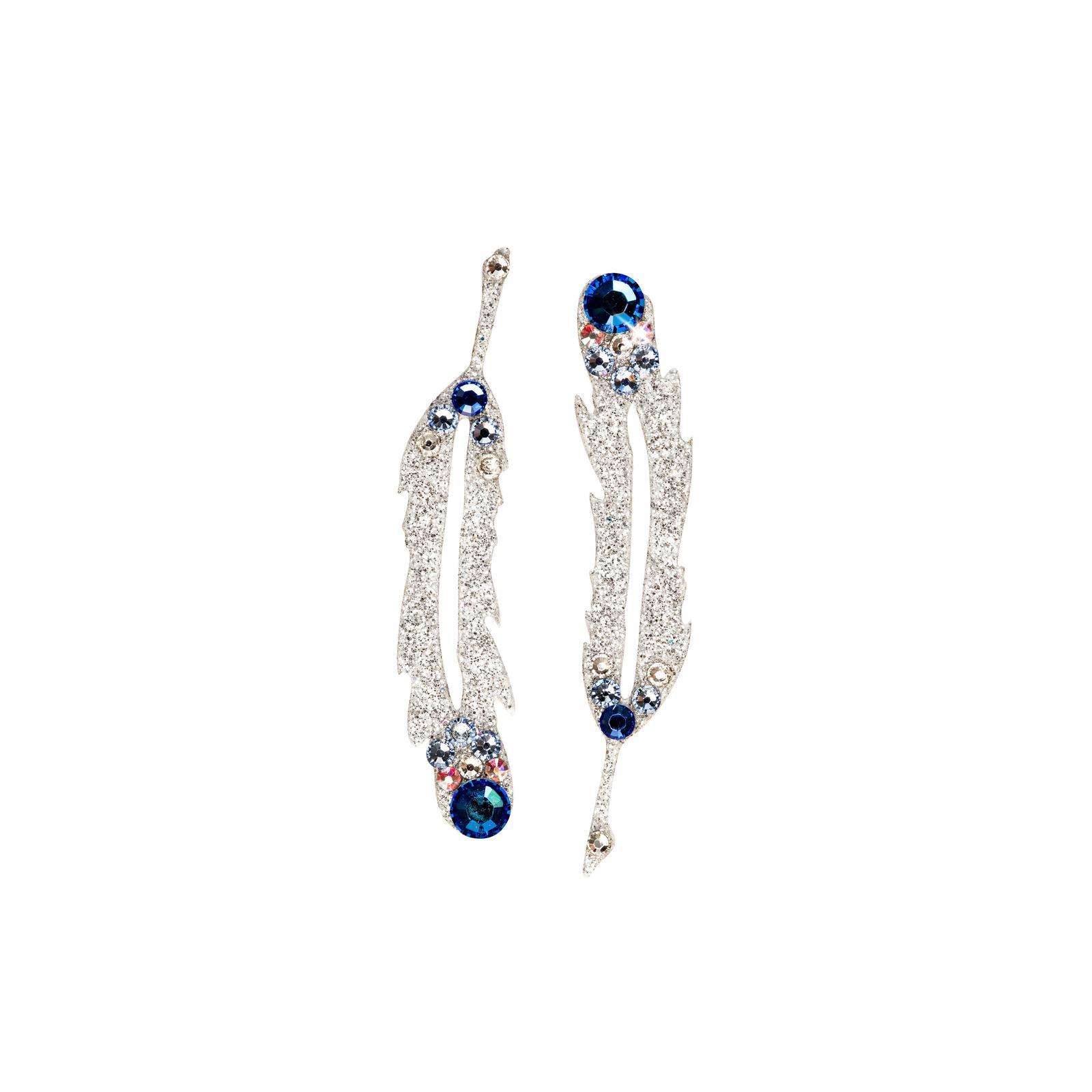 SO.nia nalepovací šperk Hope modrý 2 ks - Obrázek č. 1