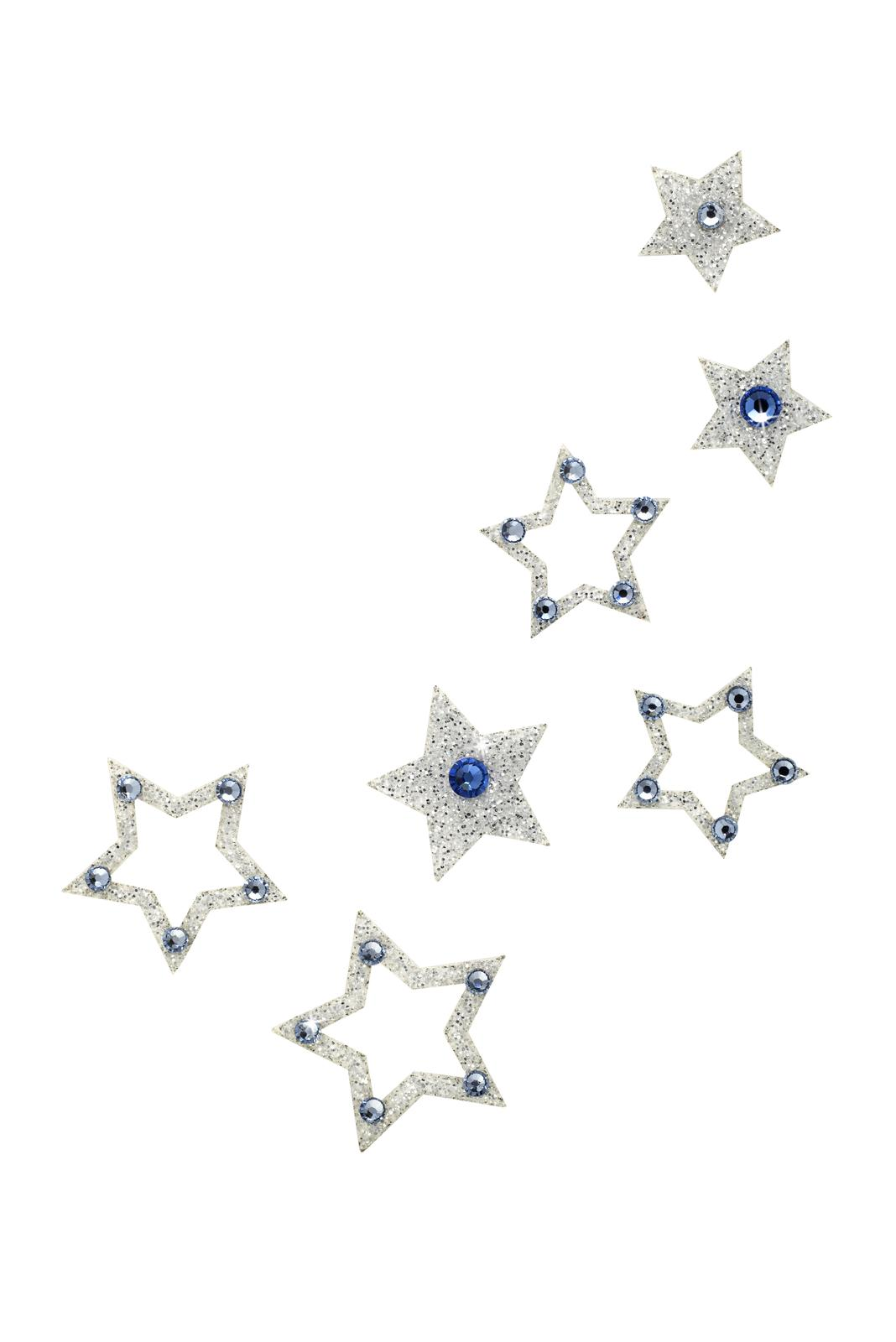 SO.nia nalepovací šperk Fame modrý 7 ks - Obrázek č. 1