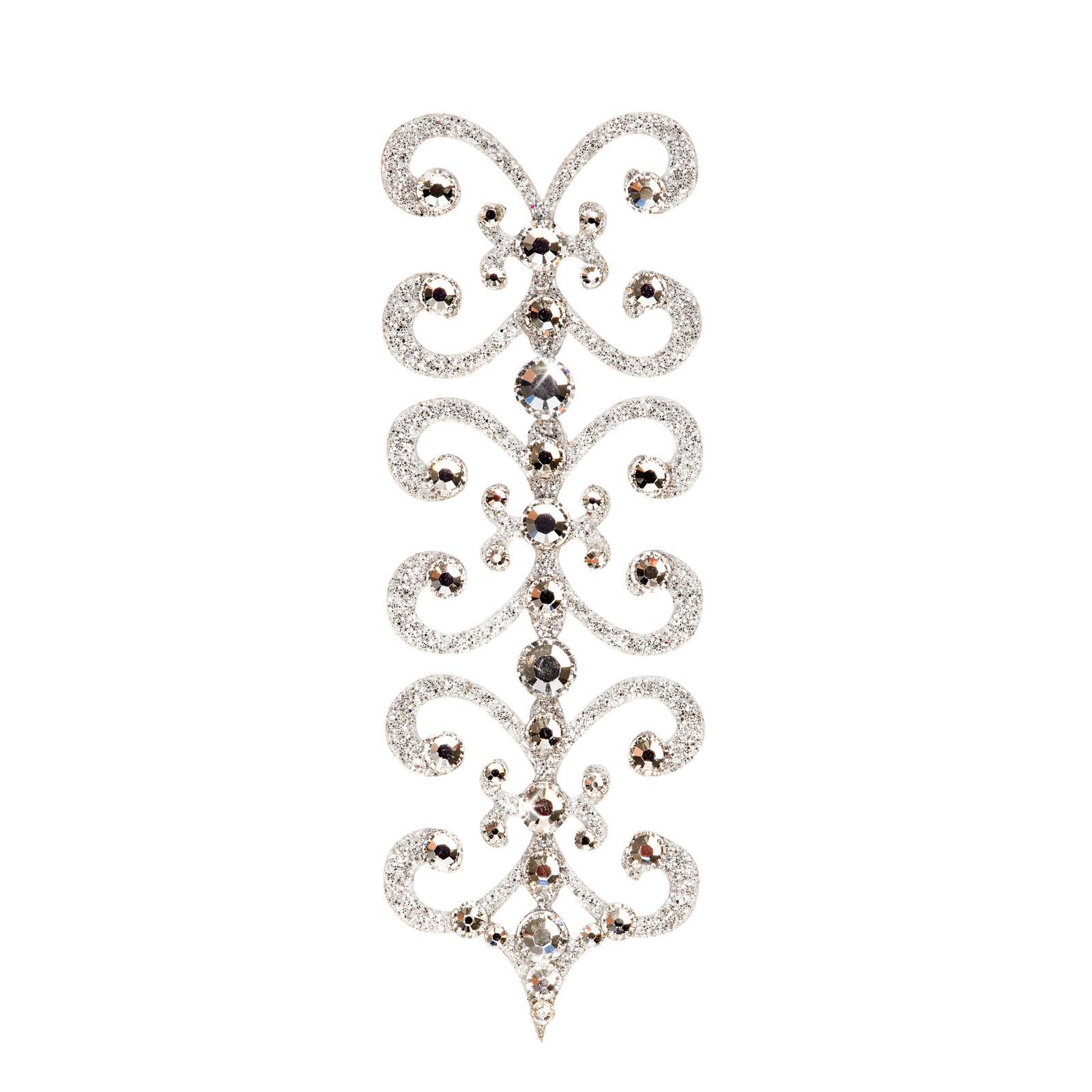 SO.nia nalepovací šperk Florence čirý 1 ks - Obrázek č. 1